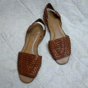 Franco Sarto  Brown Thatch Sandals